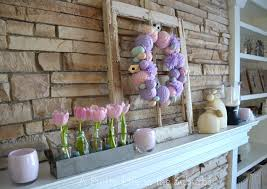 Easter Fireplace Mantel Decorations by My Easter Mantel A Pretty Life In The Suburbs