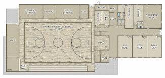 basketball gym floor plans high school gymnasium floor plans new church gymnasium plans joy