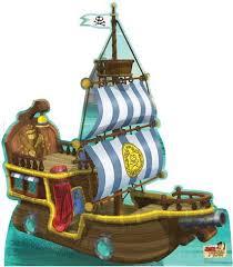 bucky pirate ship jake neverland pirates lifesize