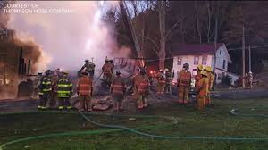 fire and explosion level home in susquehanna county wnep com