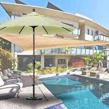 Tilting Patio Umbrella by 9 U0027 Collar Tilt Aluminum Patio Umbrella Pacifica Fabrics