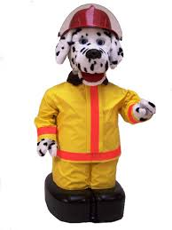 freckles the fire dog fire safety u0026 prevention robotronics