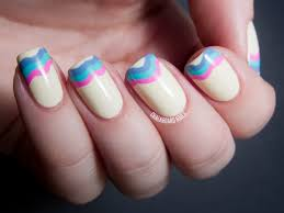 how to do french manicure with colored tips stylish tips