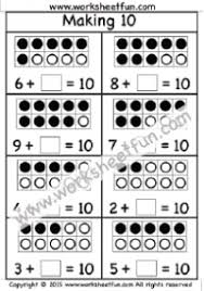 addition u2013 making 10 free printable worksheets u2013 worksheetfun