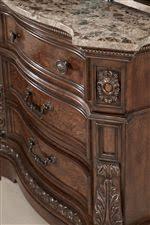 marble top dresser bedroom set ledelle b705 by millennium del sol furniture millennium