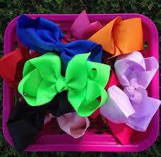 wholesale hair bows hairbows you choose bundle size hair bow bundle big