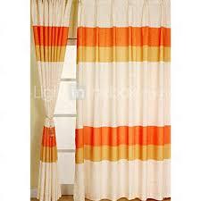 Contemporary Orange Curtains Designs Captivating Contemporary Orange Curtains Inspiration With Orange