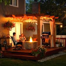 Outdoor Patio Light Ideas Lighting Patio Ideas Outdoor Lighting Installation Backyard Deck