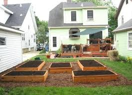 Backyard Raised Garden Ideas Raised Backyard Garden A Concrete Plan Backyard Raised Vegetable