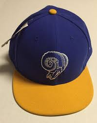 los angeles rams fitted hat 8 1 2 new era baseball cap nfl st