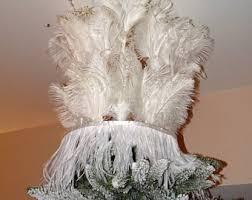 goose feather tree etsy