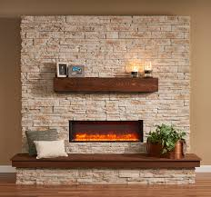electric fireplace insert into wall wall decoration ideas