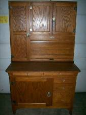 Antique Kitchen Cabinet With Flour Bin Sellers Cabinet Ebay