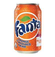 fanta soft drink can orange 24 x 330ml lowest prices