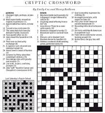 national post cryptic crossword forum march 2013