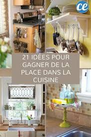 astuce rangement cuisine 21 astuces géniales pour gagner de la place dans la cuisine