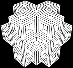 geometric coloring pages to print cool pattern coloring pages