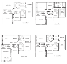 4 bedroom floor plans 2 6 bedroom two storey house plans homes zone