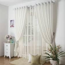 Plain White Curtains Trends Plain White Kitchen Curtains Koffiekitten