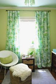 Green Nursery Curtains Interesting Curtains For Green Bedroom Inspiration With Curtains