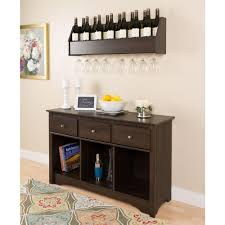 homecraft furniture espresso storage console table h 14 b the