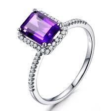 antique diamond engagement rings online get cheap purple diamond engagement ring aliexpress com