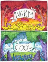 Warm Colors 106 Best Warm Cool Colors Images On Pinterest Elementary Art