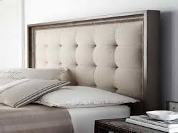 grey upholstered headboard king diy customize king tufted