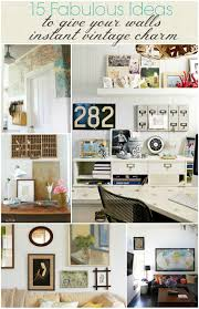 15 fabulous ideas to give your walls instant vintage charm bhg