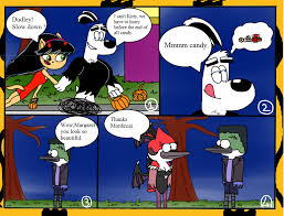 tuff puppy and regular show in halloween by gokhan16 on deviantart