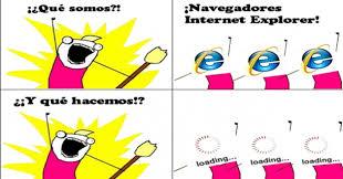 Memes De Internet - microsoft jubil祿 a internet explorer y la web se llen祿 de memes