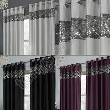 Sparkle Window Curtains by Tony U0027s Textiles Rio Curtain Panels With Grommets Embroidered