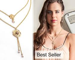 necklace double layer images Gold layered necklace layered necklace gold double strand jpg
