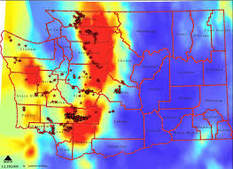 Washington Map State New Aerial Map Shows Oso Slide In A Different Light The Today