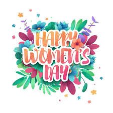 s day decoration design logo to the international happy women s day with flower