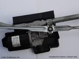 nissan qashqai wiper linkage windscreen wiper motor linkage repair clip complete kit pack of 3