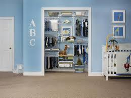 bedroom hidden blue open baby storage closet great baby closet