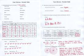 periodic table activity answers periodic table of elements handout fresh worksheets for all download