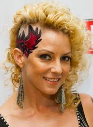 curly shaved side hair 50 hairstyles for girls with curly hair