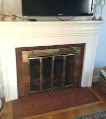 Ideas Fireplace Doors Home Depot Fireplace Doors Size Of Replacement Fireplace