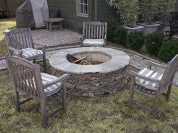 Lowes Patio Stone by Diy Stone Fire Pits Shine Your Light
