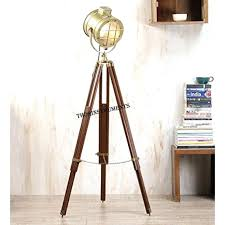 Home Decor Floor Lamps Floor Lamps Industrial Parabolic Tripod Hollywood Spotlight