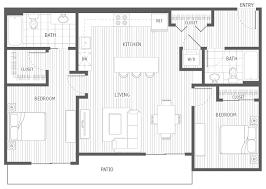 2 bedroom 2 bath floor plans apartments in kirkland wa
