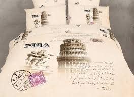 Eiffel Tower Bedding New Pisa Bedding Leaning Tower Italian Themed Comforter Cover