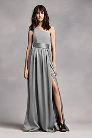 gray bridesmaid dress grey bridesmaid dresses you ll david s bridal