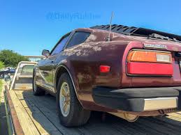 nissan fairlady 280z find of the day 1980 datsun 280zx daily rubber