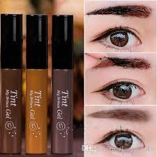 light brown gel eyeliner eyebrow enhancers tint my brow gel brand peel off eyebrow cream eye