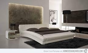 White Modern Bed 15 Stylistic Curved Platform Beds Platform Beds Modern And Bedrooms