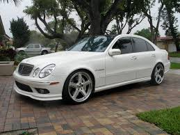 55 amg mercedes for sale view of mercedes e 55 amg 4matic at photos features