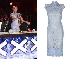 blue lace dress shop your tv britains got talent season 10 amanda s blue lace dress